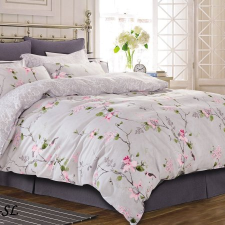Постельное белье «15/145-SL» 1,5 - спальное, Сатин, Cleo