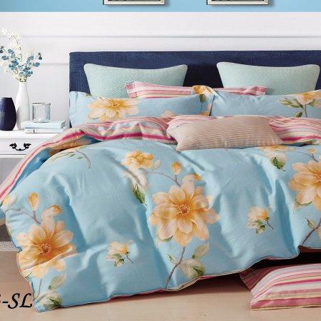 Постельное белье «15/153-SL» 1,5 - спальное, Сатин, Cleo