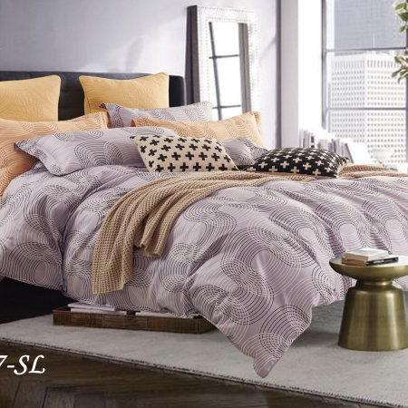 Постельное белье «15/157-SL» 1,5 - спальное, Сатин, Cleo