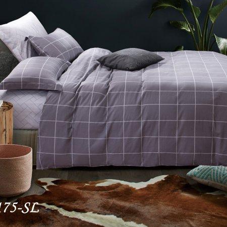 Постельное белье «15/175-SL» 1,5 - спальное, Сатин, Cleo