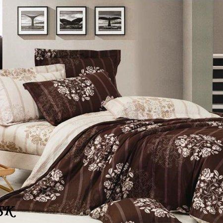 Постельное белье «15/371-SK» 1,5 - спальное, Сатин, Cleo