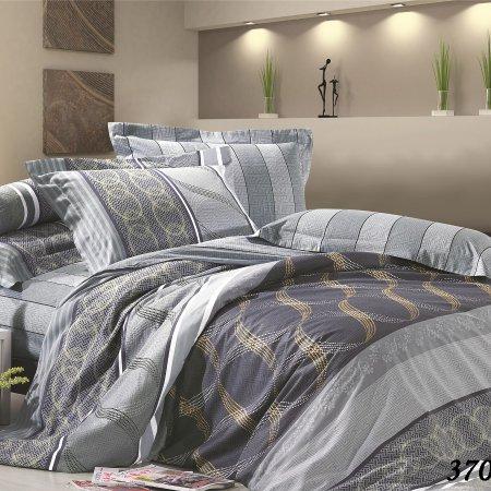Постельное белье «20/370-SK» двуспальное с европростыней, Сатин, Cleo
