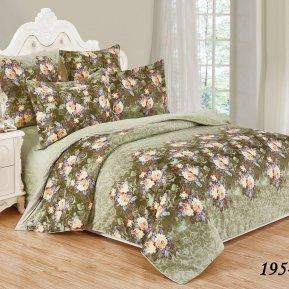 «41/195-SL» семейное постельное белье, Сатин, Cleo
