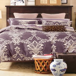 «41/267-SL» семейное постельное белье, Сатин, Cleo
