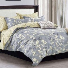 «41/287-SL» семейное постельное белье, Сатин, Cleo