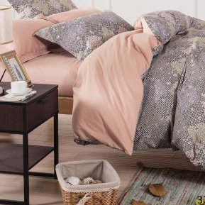 «41/371-SL» семейное постельное белье, Сатин, Cleo