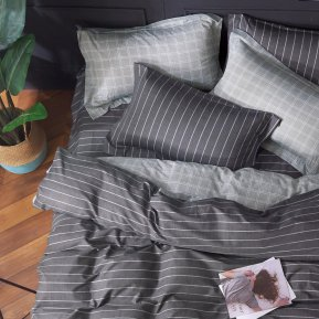 «41/375-SL» семейное постельное белье, Сатин, Cleo