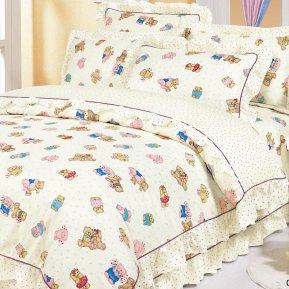«55/038-sb» дет. кроватка постельное белье, Сатин, Cleo
