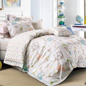 «55/035-sb» дет. кроватка постельное белье, Сатин, Cleo
