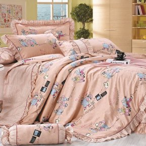 «55/039-sb» дет. кроватка постельное белье, Сатин, Cleo