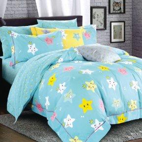 «55/042-sb» дет. кроватка постельное белье, Сатин, Cleo