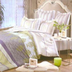«B114» семейное постельное белье, Сатин, СайлиД