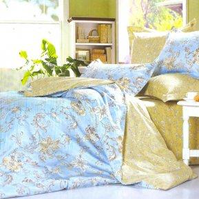 «B144» 1,5 - спальное постельное белье, Сатин, СайлиД