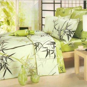 «B53» семейное постельное белье, Сатин, СайлиД
