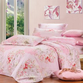 «B94(1)» семейное постельное белье, Сатин, СайлиД
