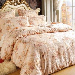 «D-128(2)» семейное постельное белье, Сатин, СайлиД