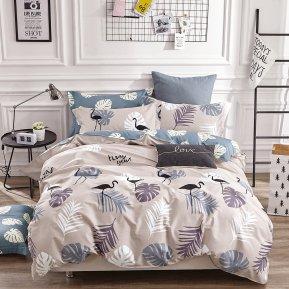 «TPIG4-407» 1,5 - спальное постельное белье, САТИН, TANGO