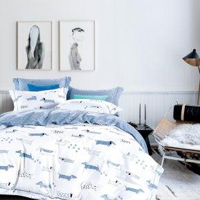 «TS01-X78» 1,5 - спальное постельное белье, САТИН, TANGO