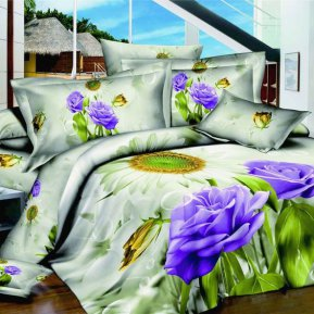 «TS01-824-70» 1,5 - спальное постельное белье, САТИН, TANGO
