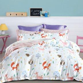 «TS01-X73» 1,5 - спальное постельное белье, САТИН, TANGO