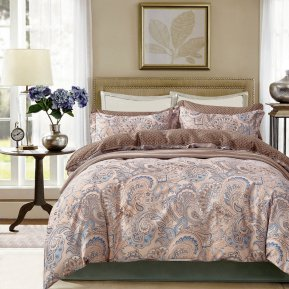 «TPIG4-605» 1,5 - спальное постельное белье, САТИН, TANGO