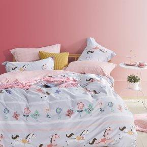 «TS01-X74» 1,5 - спальное постельное белье, САТИН, TANGO