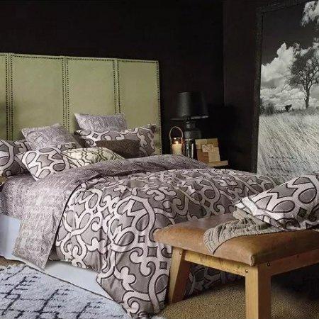 Постельное белье «TS01-402» 1,5 - спальное, Сатин, TANGO