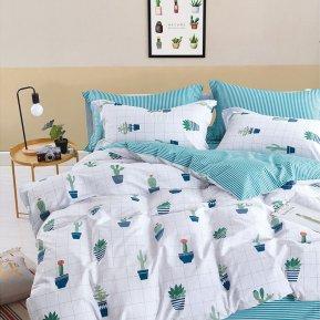 «TS01-X59» 1,5 - спальное постельное белье, САТИН, TANGO