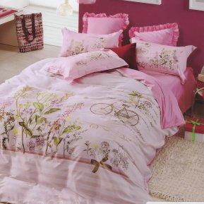 «TS01-12» 1,5 - спальное постельное белье, САТИН, TANGO