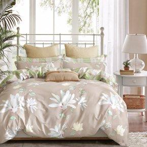 «TPIG2-399-70» двуспальное с европростыней постельное белье, САТИН, TANGO
