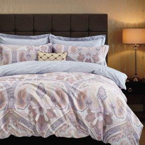 «TS02-403-50» двуспальное с европростыней постельное белье, САТИН, TANGO