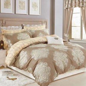 «TPIG2-333-70» двуспальное с европростыней постельное белье, САТИН, TANGO