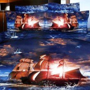 «TS05-810» семейное постельное белье, САТИН, TANGO