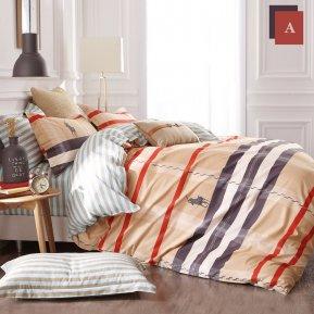 «TPIG5-404» семейное постельное белье, САТИН, TANGO