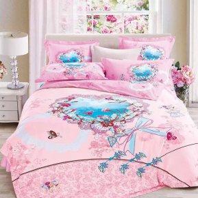 «TS05-726» семейное постельное белье, САТИН, TANGO
