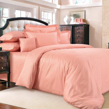 Постельное белье «Яркий персик» 1,5 - спальное, Сатин, Текс-Дизайн