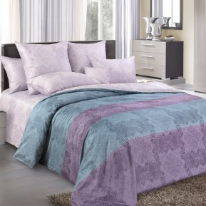 Постельное белье Сон в летнюю ночь 2 фиолет. 2,0+евро