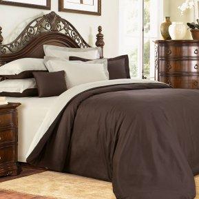 «Американо №2» ЕВРО Макси постельное белье, САТИН, Текс-Дизайн