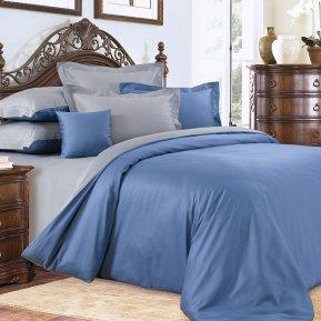 «Лондонский туман №2» двуспальное с европростыней постельное белье, САТИН, Текс-Дизайн