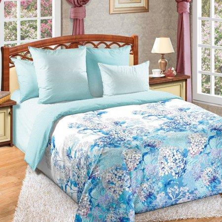 Постельное белье «Цветочный бриз» 1,5 - спальное, Сатин, Текс-Дизайн