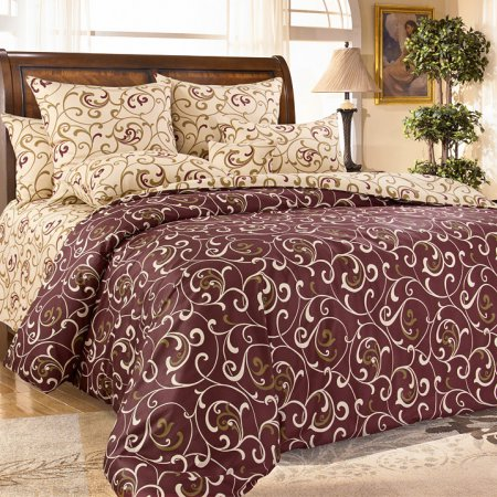 Постельное белье «Вензель 1 кор.» 1,5 - спальное, Сатин, Текс-Дизайн