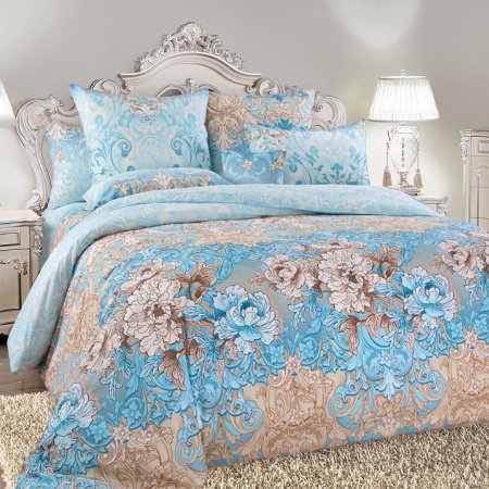 Постельное белье «Вивьен» 1,5 - спальное, Сатин, Текс-Дизайн
