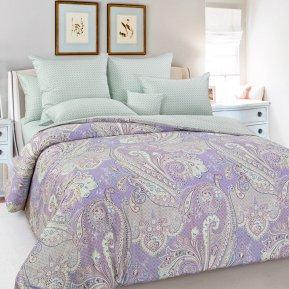 «Восточное утро» двуспальное с европростыней постельное белье, Сатин, Текс-Дизайн