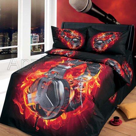 «Энерджи» 1,5 - спальное постельное белье, Сатин, Арт Дизайн