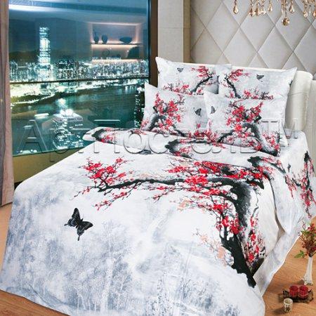 Постельное белье «Предвкушение» 1,5 - спальное, Сатин, Арт Дизайн