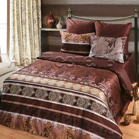 Постельное белье «Латтэ» 1,5 - спальное, Сатин, Арт Дизайн
