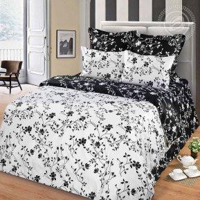 «Жемчуг» 1,5 - спальное постельное белье, Сатин, Арт Дизайн