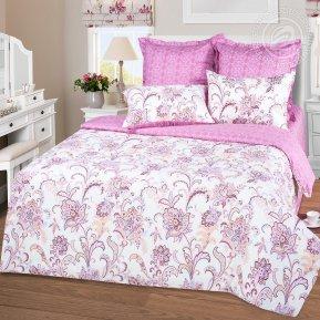 «Касабланка роз.» 1,5 - спальное постельное белье, Сатин, Арт Дизайн