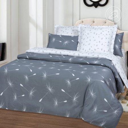 Постельное белье «Легкость» двуспальное с европростыней, Сатин, Арт Дизайн