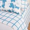 Постельное белье «Зара» двуспальное с европростыней, Сатин, Арт Дизайн